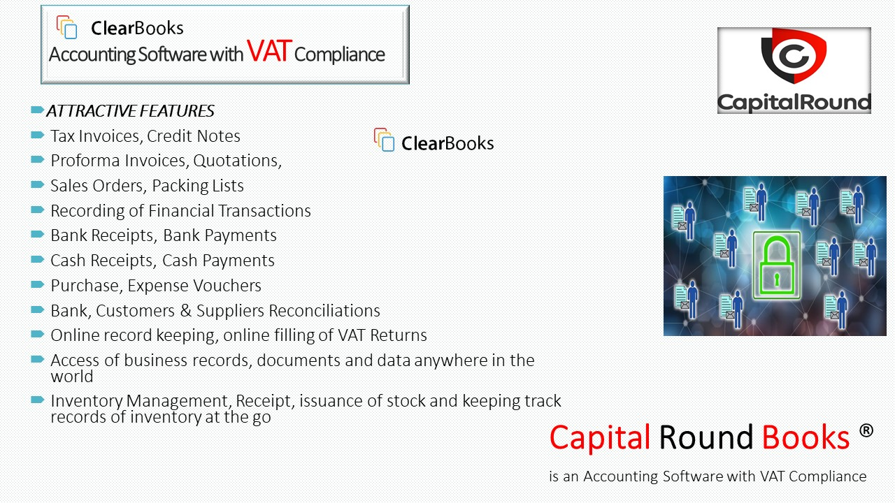 Features of the Software - Capital Round