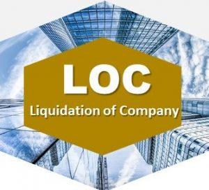 liquidation of Company Services
